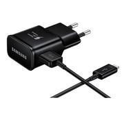 Bulkverpakking - voor Samsung Originele USB snellader 9V + USB-C kabel Zwart