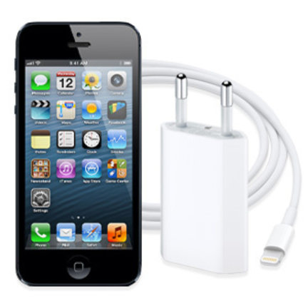 iPhone 5 oplader