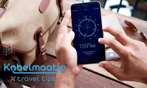 Hoe overleeft mijn smartphone het backpack avontuur?
