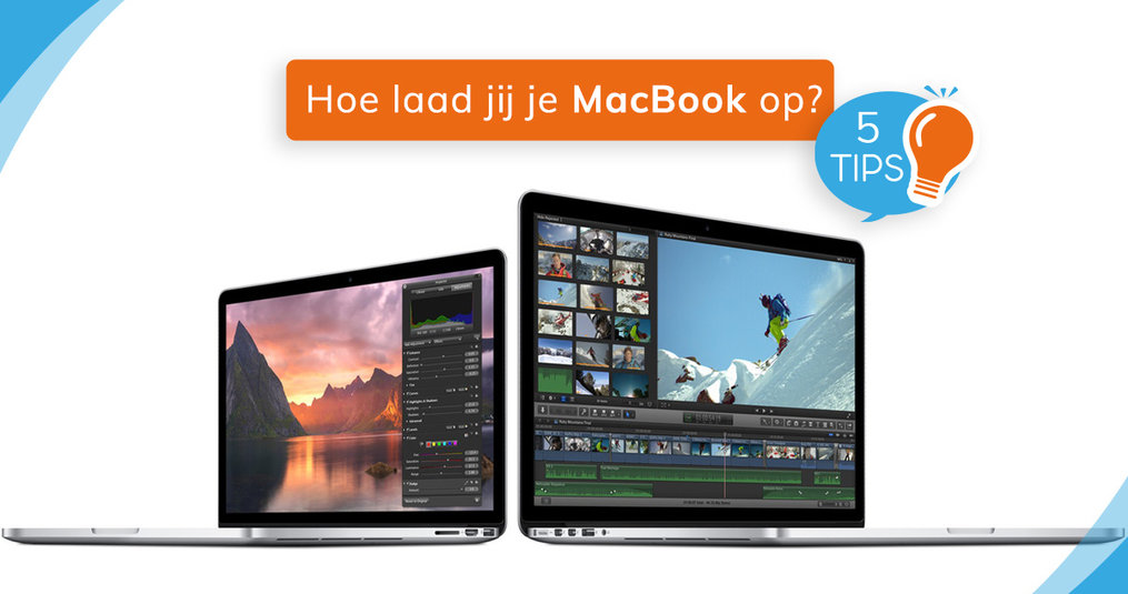 Je MacBook opladen: 5 tips