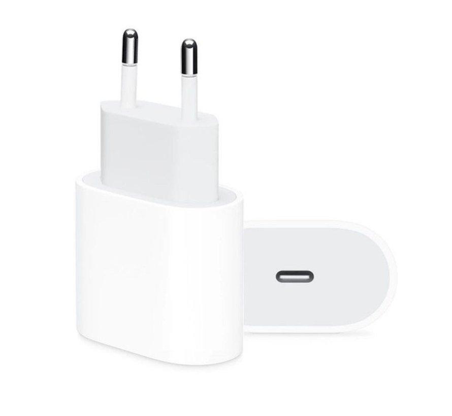 Originele iPhone USB-C oplaadkabel 1meter + 18 Watt adapter