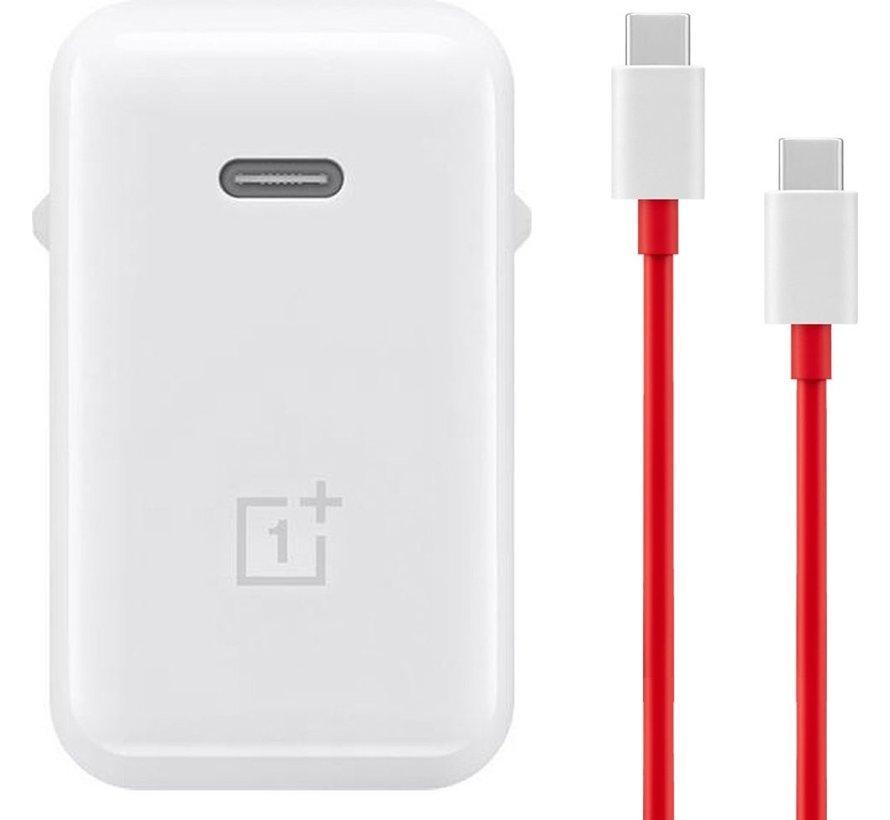OnePlus Warp Charge 65W Power Adapter+ USB-C kabel