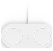Belkin Belkin Boost - Duo Draadloze Oplader 10W + Adapter & Kabel - Wit