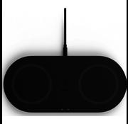 Belkin Belkin Boost - Duo Draadloze Oplader 10W + Adapter & Kabel - Zwart