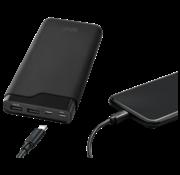 Azuri Slim Powerbank Azuri  3x+ USB-C 15.000 mAh