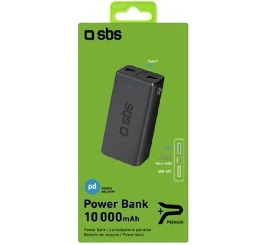 Multipoort Powerbank SBS  10.000 mAh 18 Watt