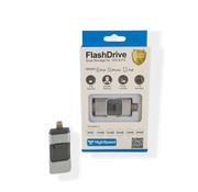 Retailverpakking 32 GB - Lightning USB Stick - Grijs