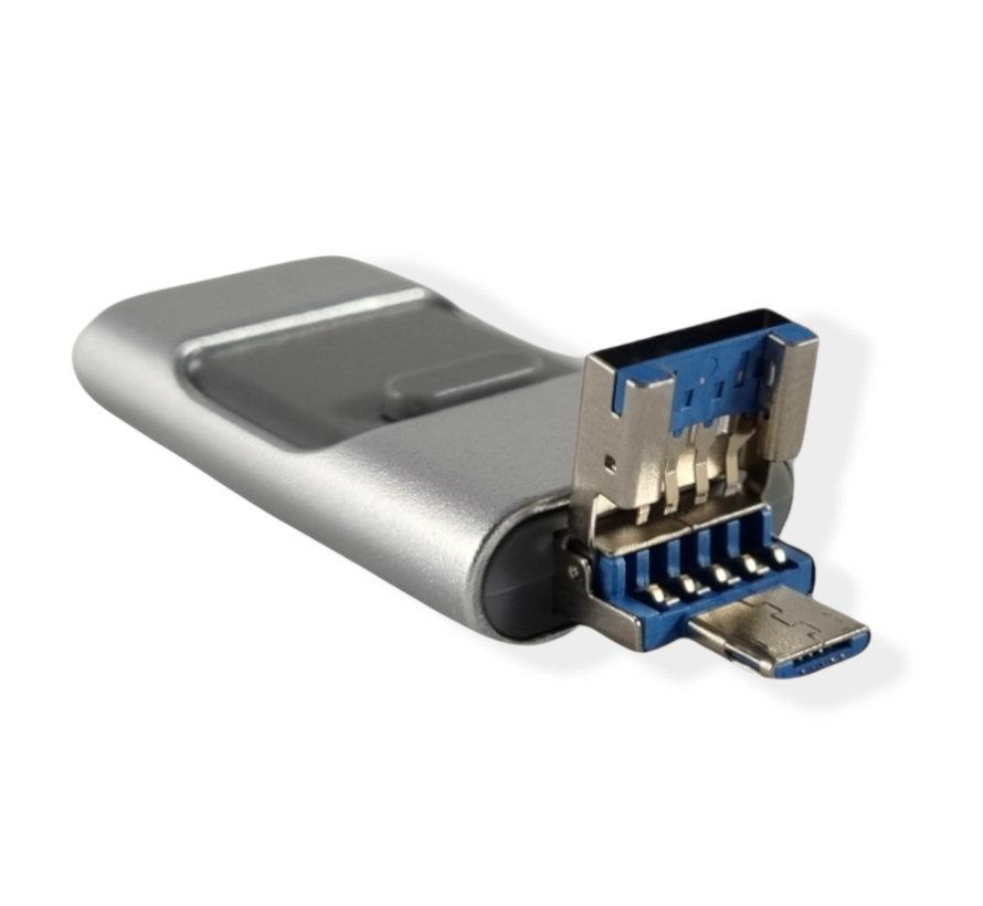 64 GB - Lightning USB Stick - Grijs