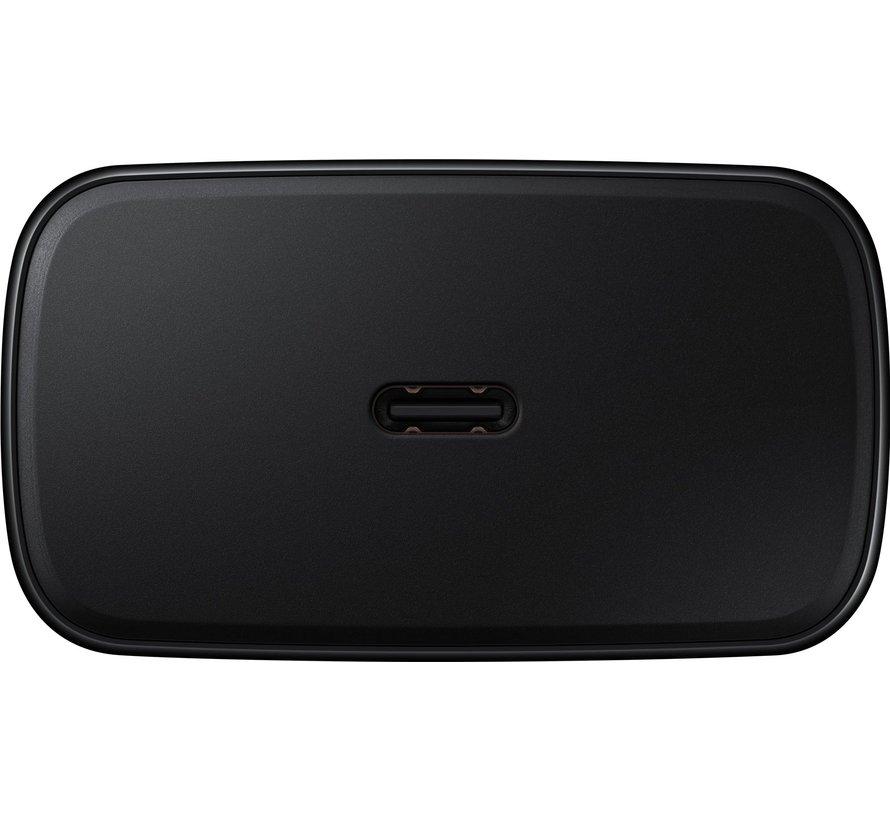 Samsung Super Fast Charging 45W + Usb C naar Usb C Kabel 1m Zwart