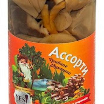 YES Pilz Mischung mit Knoblauch mild gesalzen