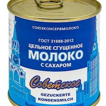 Sovetskoe Gezukerte Kondensmich 8% Fett 380g