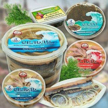 Fisch und Fischkonserven