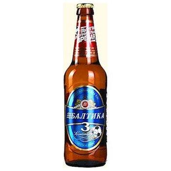 Baltika Baltika Bier 3 Classik 450 ml
