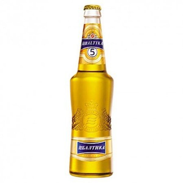 Baltika Baltika Bier 5 gold 470ml