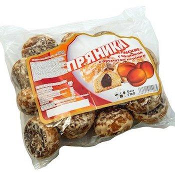 Russische Lebkuchen mit Pfirsich Fühllung 400g