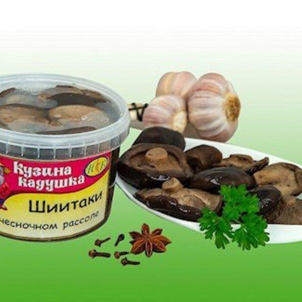 Kusina Kaduschka Schiitake mit Knoblauch 400g