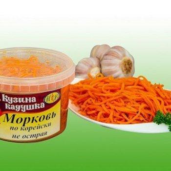 Kusina Kaduschka Karottensalat nach Koreanischen art  mild 350g