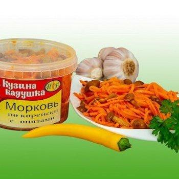 Kusina Kaduschka Karottensalat mit Pilze 350g