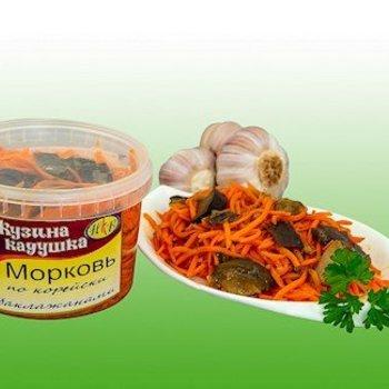 Kusina Kaduschka Karottensalat mit Auberginen 350g