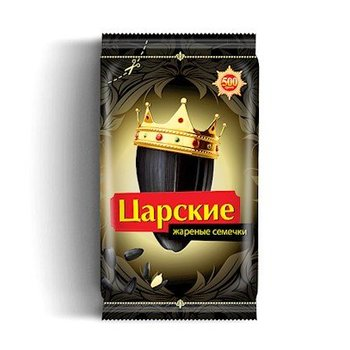 Zarskie Königliche Zarskie Sonnenblumen schwarz geröstet 400g