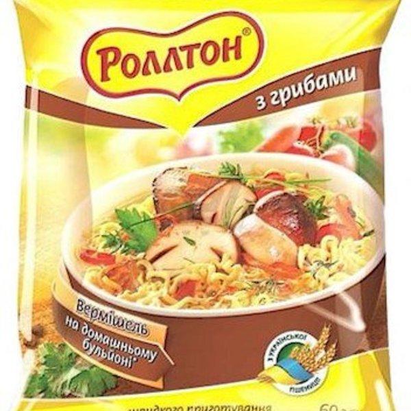 Rollton Rollton Nudel mit Pilzgeschmack 60g