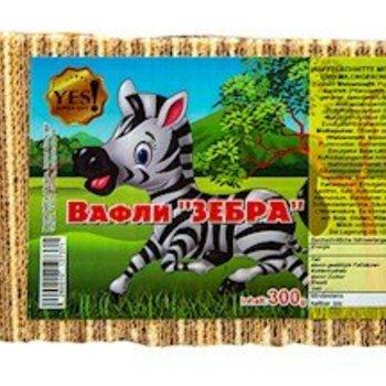 YES YES  Waffeln Zebra 300g