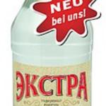 Wodka Extra gold 0,5l