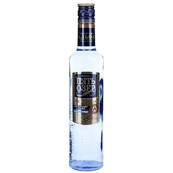 h&b Wodka fünf seen Premium  0,5l