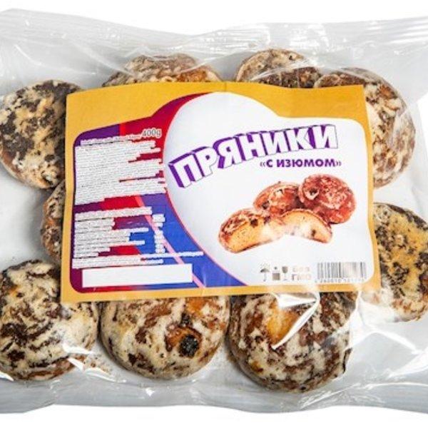h&b Russische Lebkuchen  mit Rosinen  400g