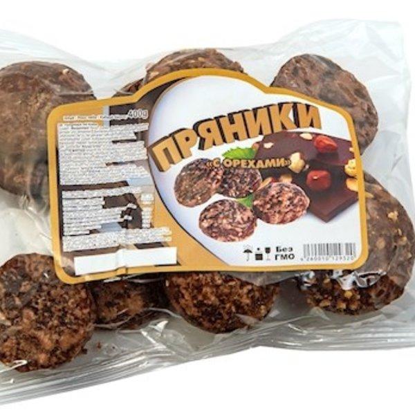 h&b Russische Lebkuchen  Schoko Nuss 400g