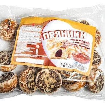 h&b Russische Lebkuchen mit Karamellfüllung    400g