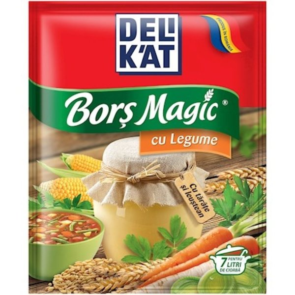 Delikat Bors Magic cu Legume 65g
