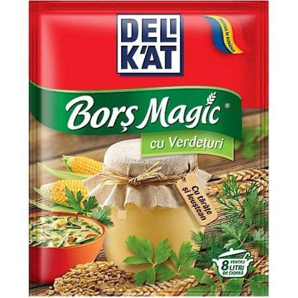Delikat Bors Magic cu Verdeturi 65g