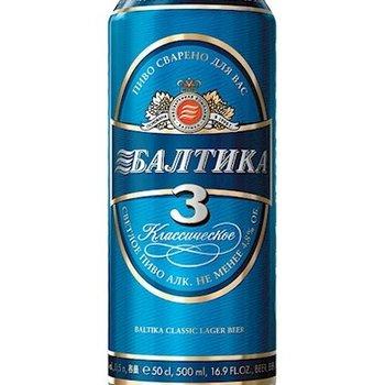 Baltika Baltika Bier 3 Classik 450 ml ( Dose )