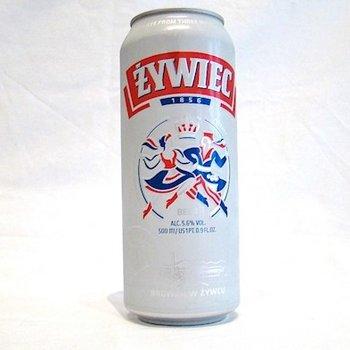 Zywiec Zywiec Bier hell Dose 0,5 L