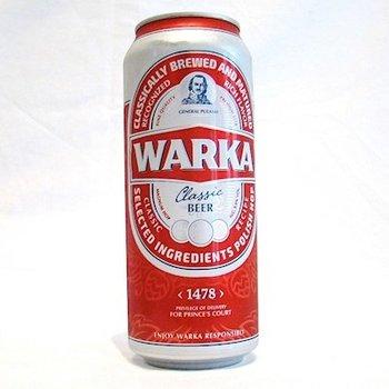 Warka Warka Bier hell 0,5 L