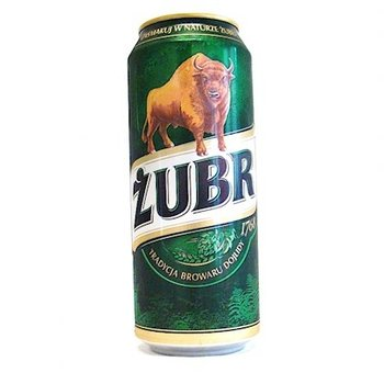 Zubr Zubr Bier hell 0,5 L