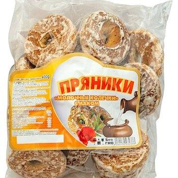 Lebkuchen nach russischer art Milcharoma mit Mohn 400g