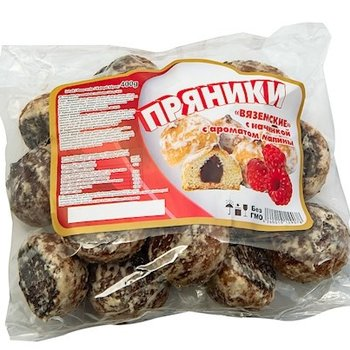 Lebkuchen nach Russische art mit Himbeerefüllung  400g