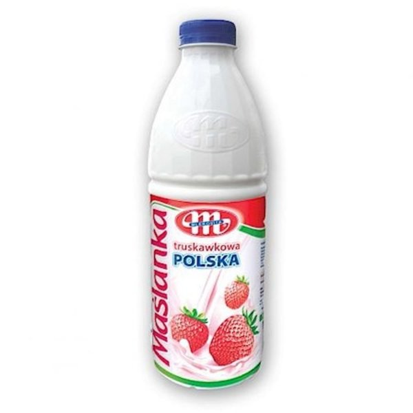 Mlekovita Masljanka erdbeeregeschmack 1l