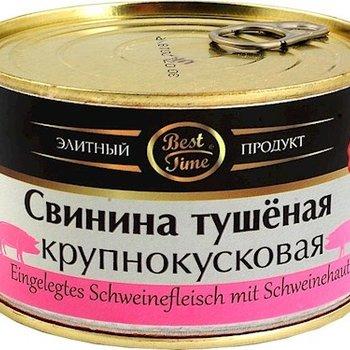 Best Time Eingelegte Schweinefleisch Stückchen 400g