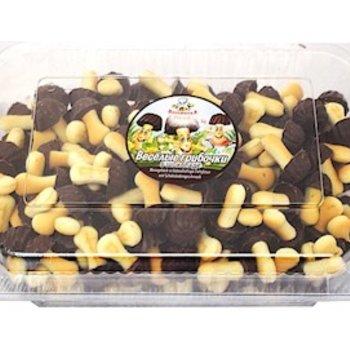 Schokoladen Pilzen Milchschokogeschm. 500g
