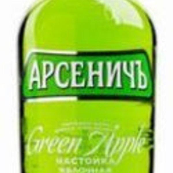 Wodka Arsenitch/Green Apple 40% 0,5L
