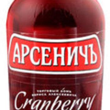 Wodka Arsenitch/Moosbeerengeschmack 40% 0,5L