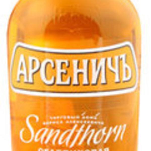 Wodka Arsenitch/Sanddorngeschmack 40% 0,5L