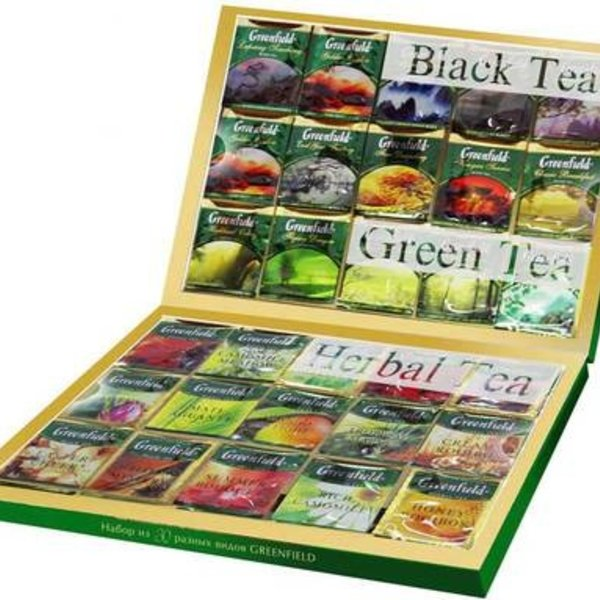 Greenfield Tee Premium Collection Set 120Stx2g