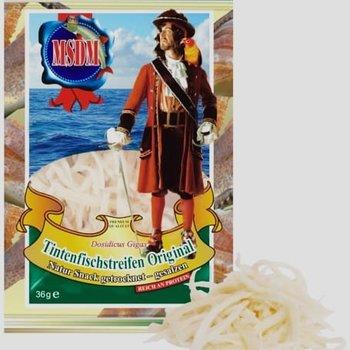 MSDM Tintenfischstreifen Original gesalzen getrocknet 36g