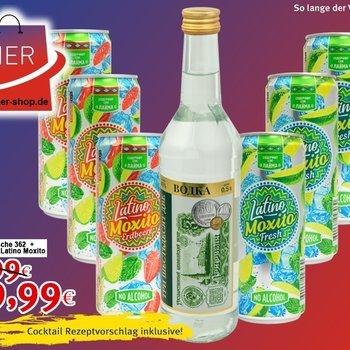 Cocktail Angebot für des Sommer Moxito
