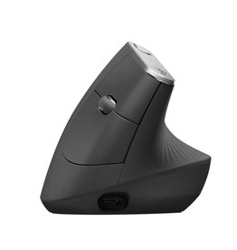Logitech MX Vertical Advanced Ergonimic muis RF draadloos + Bluetooth Optisch 4000 DPI Rechtshandig