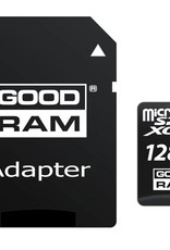 Goodram Micro SD + Adapter 128GB Class10 UHS I